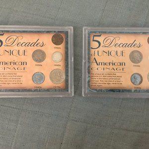 Five Decades of Unique American Coinage